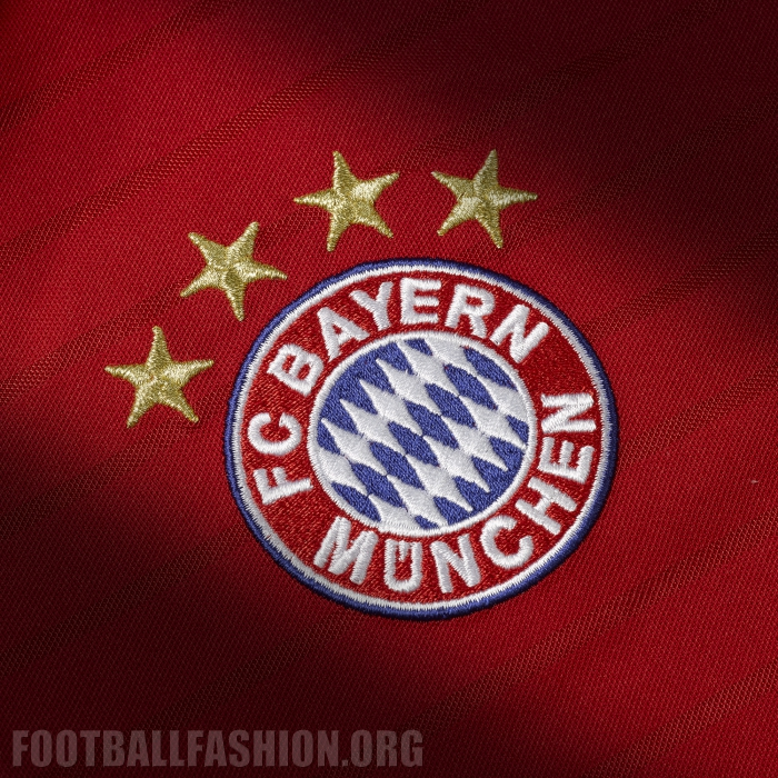 fc bayern m nchen 2016 17 adidas home kit football. Black Bedroom Furniture Sets. Home Design Ideas