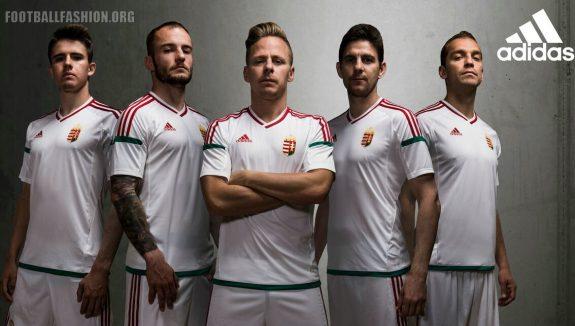 Hungary EURO 2016 adidas Home and Away Football Kit, Soccer Jersey, Shirt, Mez