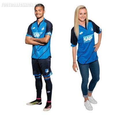 TSG 1899 Hoffenheim 2016 2017 Lotto Home Football Kit, Soccer Jersey, Shirt, Heimtrikot, Trikit