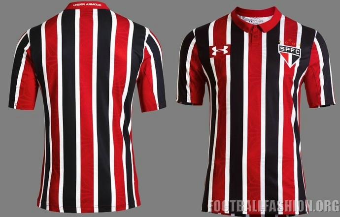 fluctuar Sombreado humor  São Paulo FC 2016/17 Under Armour Away Kit - FOOTBALL FASHION