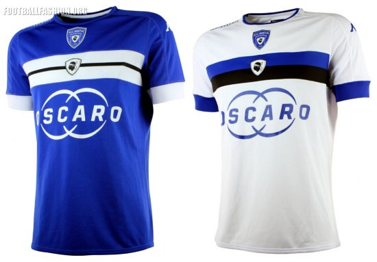 SC Bastia 2016 2017 Kappa Home and Away Soccer Jersey, Shirt, Football Kit, Maillot