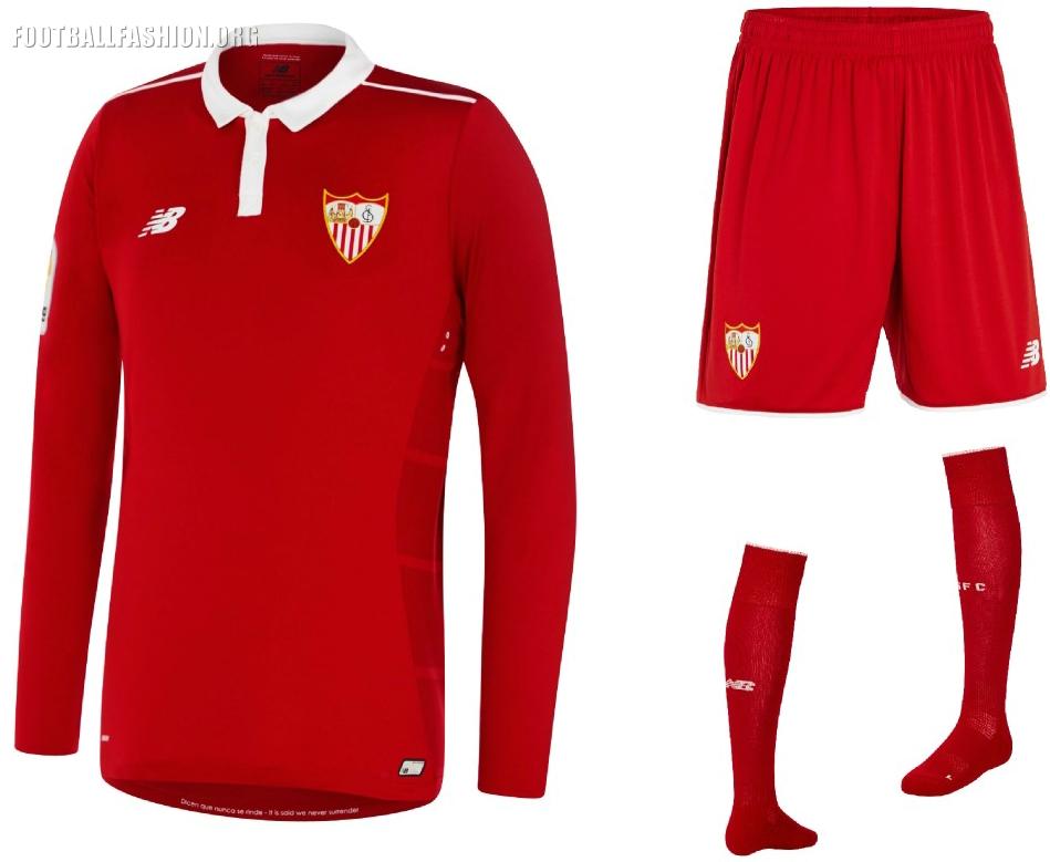 Sevilla FC 2016/17 New Balance Away Kit – FOOTBALL FASHION.ORG