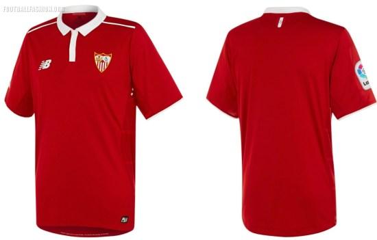 Sevilla Fc 2016 17 New Balance Away Kit Football Fashion Org