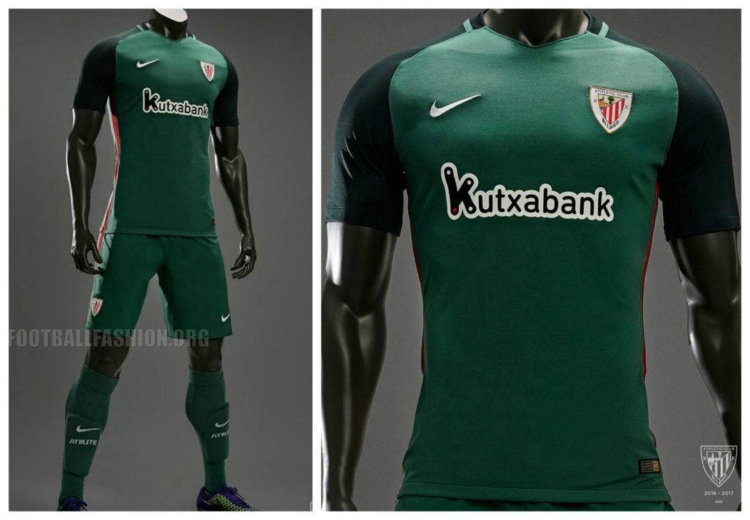 Athletic Bilbao 2016 17 Nike Home and Away Kits - Football Fashion b276746834e08