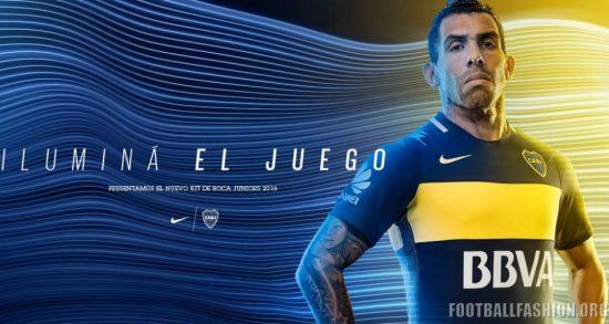 Boca Juniors 2016 2017 Nike Home Football Kit, Soccer Jersey, Shirt, Camiseta de Futbol, Equipacion, Playera