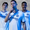 Chelsea Football Club 2016 2017 adidas White Third Kit, Soccer Jersey, Shirt, Camiseta, Camisa, Trikot, Maillot