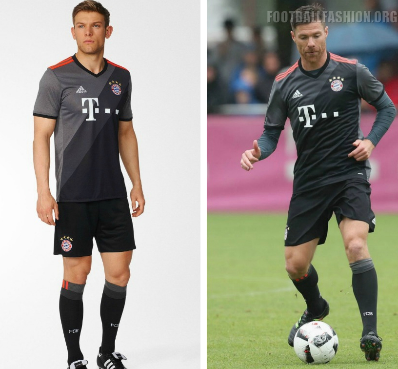 Auswärtstrikot Bayern 16 17