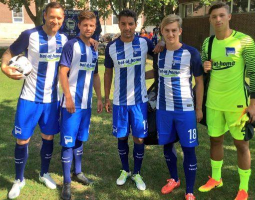 Hertha BSC 2016 2017 Nike Home Football Kit, Soccer Jersey, Shirt, Heimtrikot, Trikot