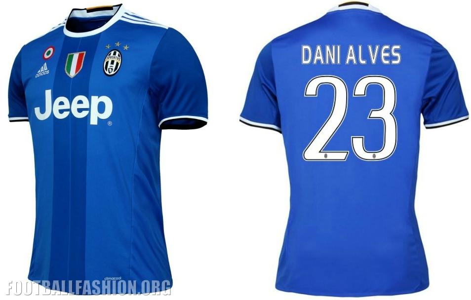new styles 7b812 270a0 Juventus 2016/17 adidas Away Kit - FOOTBALL FASHION.ORG