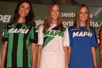 Sassuolo Calcio 2016 2017 Kappa Home, Away and Third Football Kit, Soccer Jersey, Shirt, Gara, Maglia
