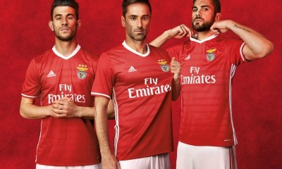 SL Benfica 2016 2017 Home and Away Football Kit, Soccer Jersey, Camisola, Camiseta, Shirt