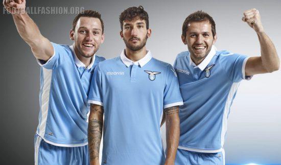 SS Lazio 2016 2017 Macron Home Football Kit, Soccer Jersey, Shirt, Gara, Maglia, Camiseta, Camisa