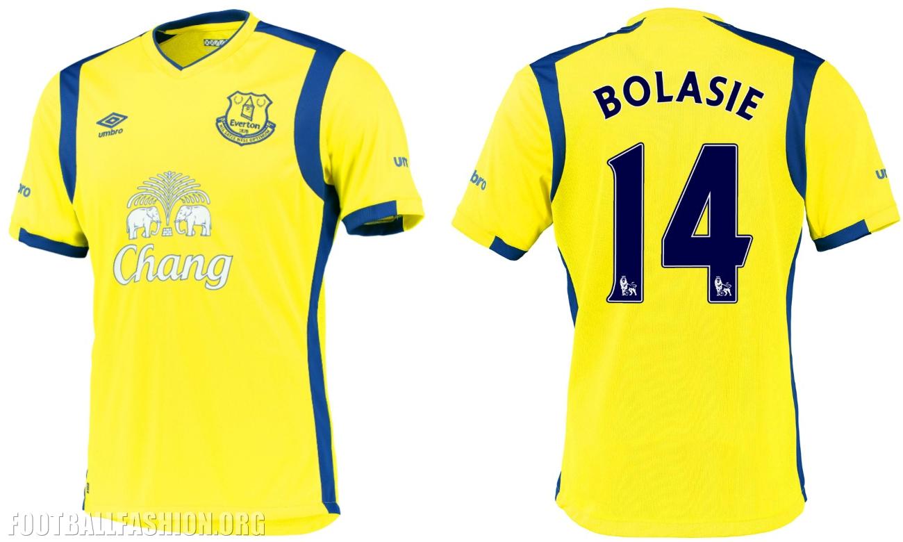 online retailer e6470 99d6e Everton FC 2016/17 Umbro Third Kit - FOOTBALL FASHION.ORG