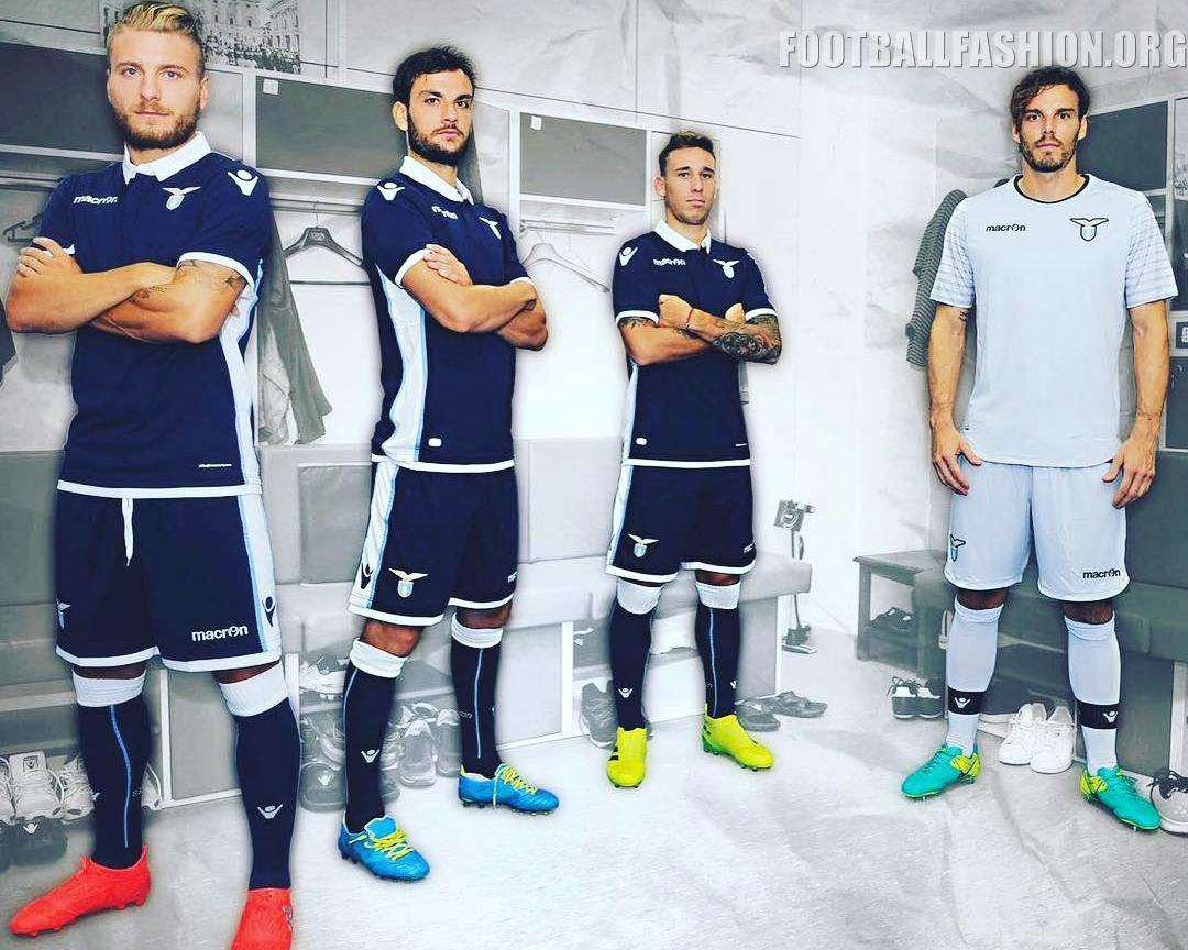 detailed pictures 6f50b 26b94 SS Lazio 2016/17 Macron Away Kit - FOOTBALL FASHION.ORG
