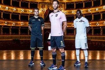 Palermo 2016 2017 Joma Home, Away and Third Football Kit, Soccer Jersey, Shirt, Gara, Maglia, Camiseta