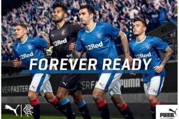 Rangers FC 2016 2017 PUMA Home, Away and Third Football Kit, Soccer Jersey, Shirt