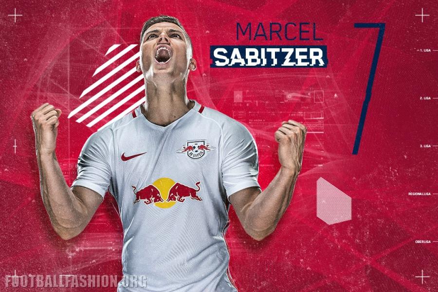 Bundesliga Newcomer RB Leipzig s 2016 17 Nike Home and Away Jerseys ... 021f0a835