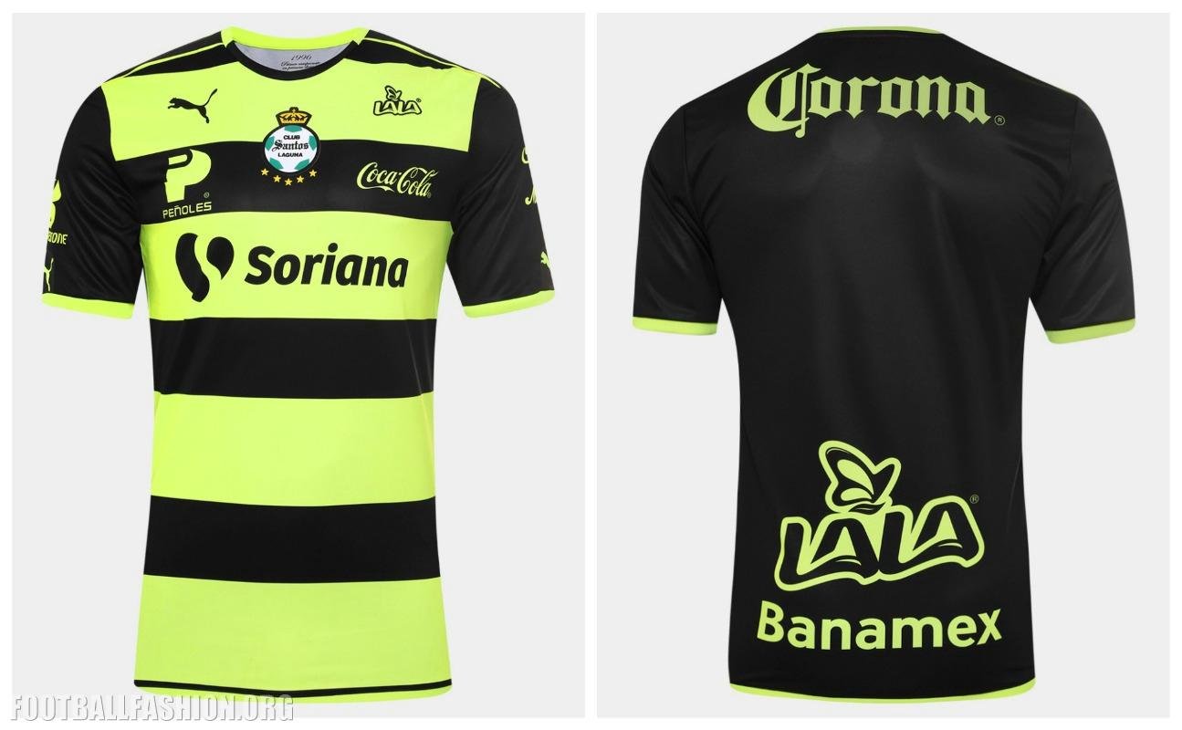 6b6ebad2f9d Santos Laguna 2016 2017 PUMA Home and Away Soccer Jersey, Football Kit,  Shirt,