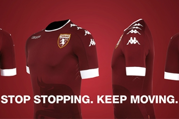 Torino FC 2016 2017 Kappa Home, Away and Third Football Kit, Soccer Jersey, Shirt, Gara, Maglia, Camiseta, Camisa