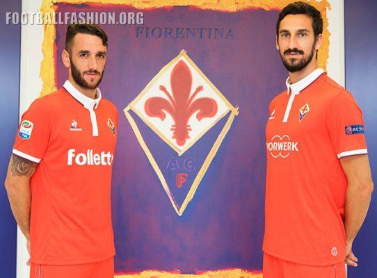 ACF Fiorentina 2016 2017 le coq sportif Third Football Kit, Soccer Jersey, Shirt, Gara, Maglia