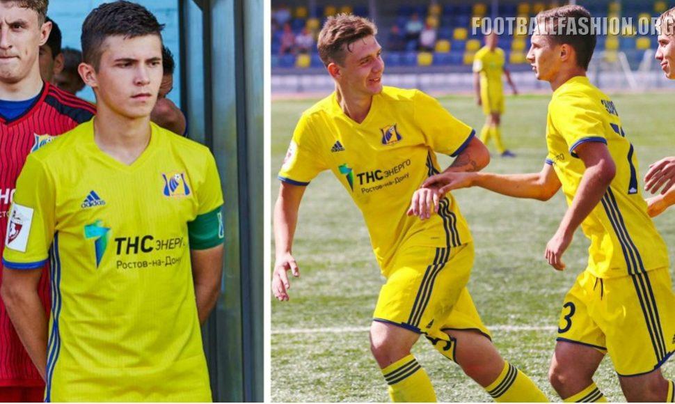 FC Rostov 2016 17 adidas Home and Away Kits - Football Fashion f6ef98636