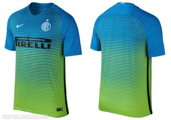 Inter Milan 2016 17 Nike Third Kit - Football Fashion 5d058ddc7f98c