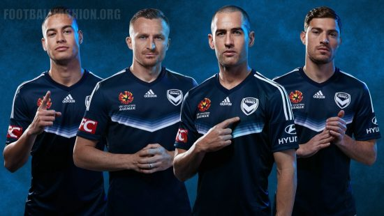 Melbourne Victory 2016 2017 adidas Home Football Kit, Soccer Jersey, Shirt