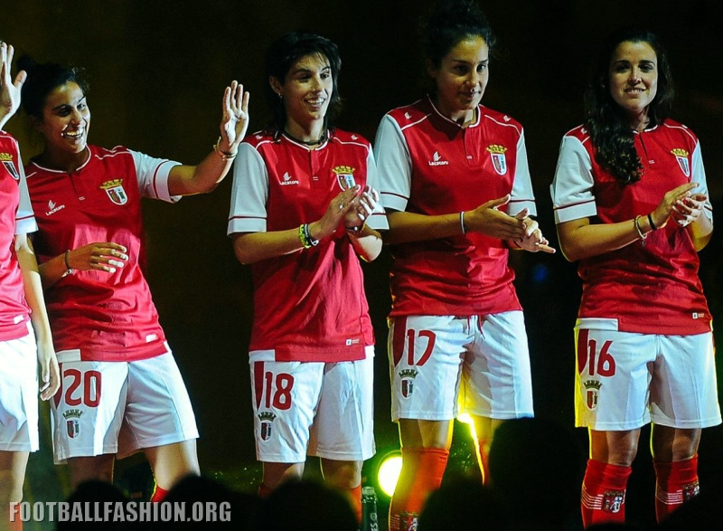 Sporting Braga: SC Braga 2016/17 Lacatoni Home And Away Kits