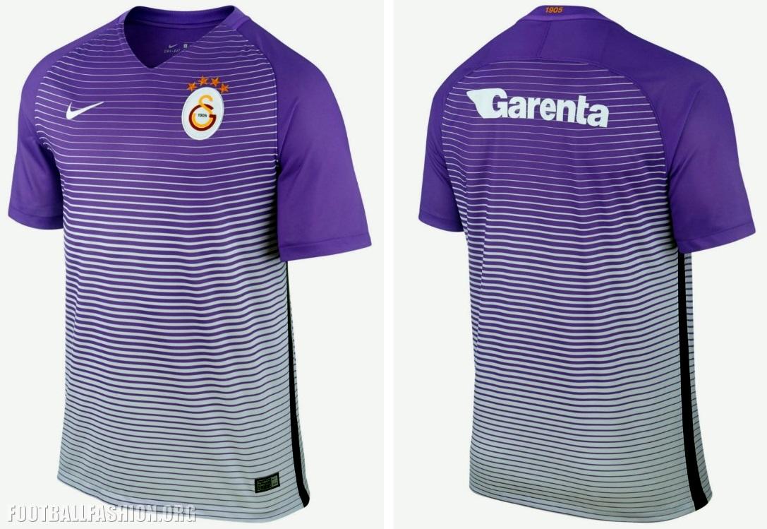 super popular 3137f 87692 Galatasaray SK 2016/17 Nike Away and Third Jerseys ...