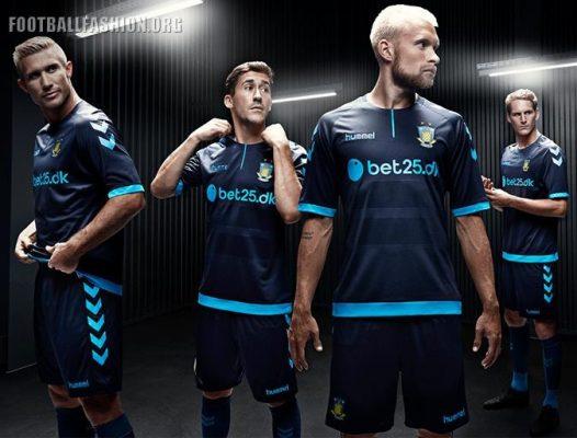 Brøndby IF Hummel 2016 2017 Football Kit, Soccer Jersey, Trøje, Shirt, Udebanetrøje