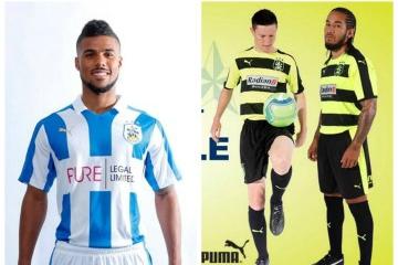 Huddersfield Town FC 2016 2017 PUMA Home, Away and Third Football Kit, Soccer Jersey, Shirt