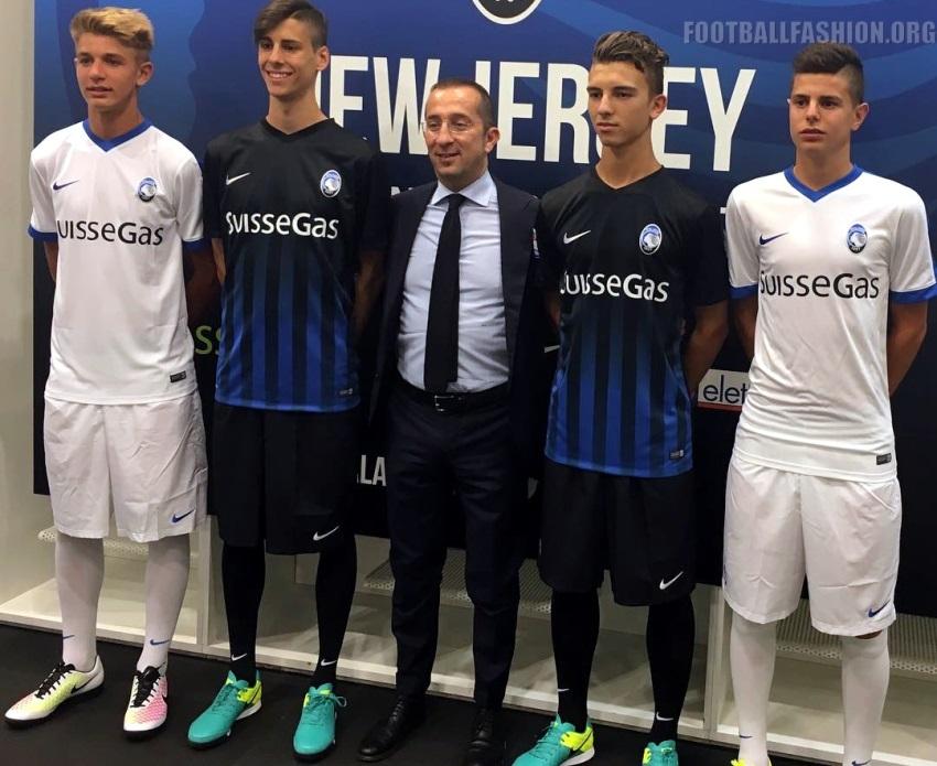 Atalanta BC 2016/17 Nike Home and Away Kits - FOOTBALL ...