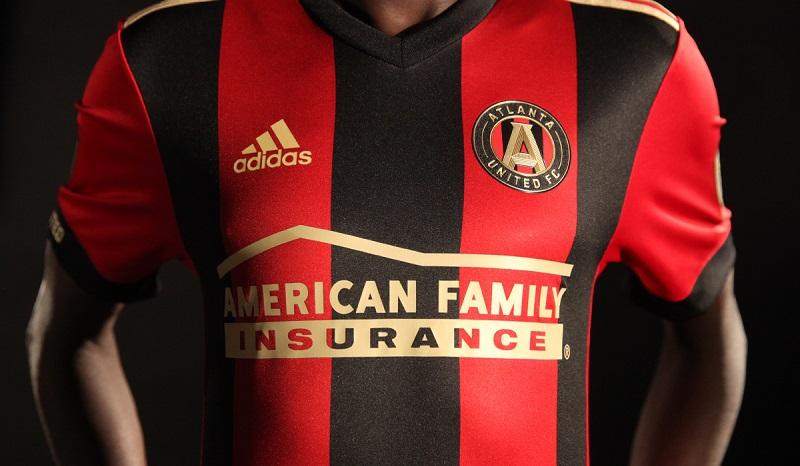 finest selection 25244 84ca1 Atlanta United FC 2017/18 adidas Home Jersey - FOOTBALL ...