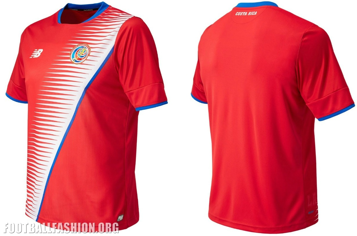 ... 2018 FIFA World Cup. Costa Rica 2016 2017 New Balance Home and Away  Soccer Jersey 949aa6adb