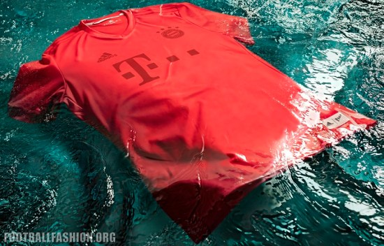 FC Bayern Munich adidas x Parley Ocean Plastic 2016 2017 Football Kit, Soccer Jersey, Shirt, Trikot, Camiseta, Camisa