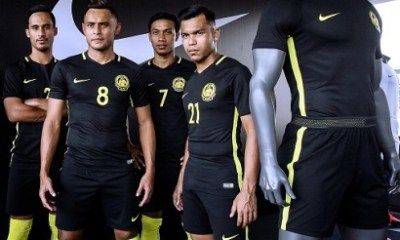 Malaysia 2016 2018 Nike Home and Away Football Kit, Soccer Jersey, Shirt, AFF Suzuki Cup Jersi