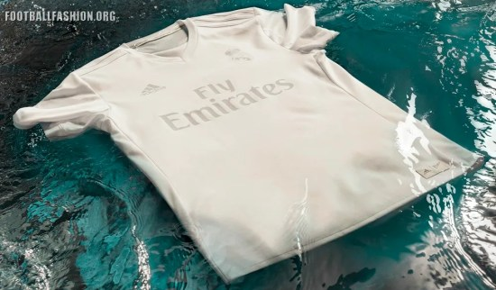 d8d455b878a63 Real Madrid adidas x Parley 2016 17 Home Jersey – Made from Ocean ...