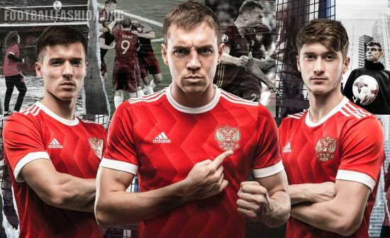 Russia 2017 FIFA Confederations Cup adidas Home Football Kit, Soccer Jersey, Shirt