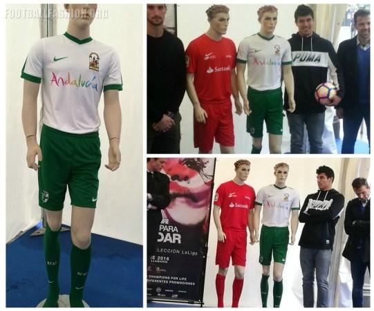 Andalucía 2016 UNICEF Champions for Life Nike Football Kit, Soccer Jersey, Shirt, Camiseta de Futbol. Equipacion