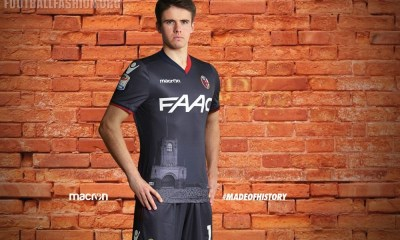 Bologna FC 2016 2017 Macron Third Football Kit, Soccer Jersey, Shirt, Maglia, Gara