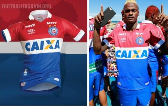EC Bahia 2016 2017 Umbro Third Football Kit, Soccer Jersey, Shirt, Camisa do Futebol