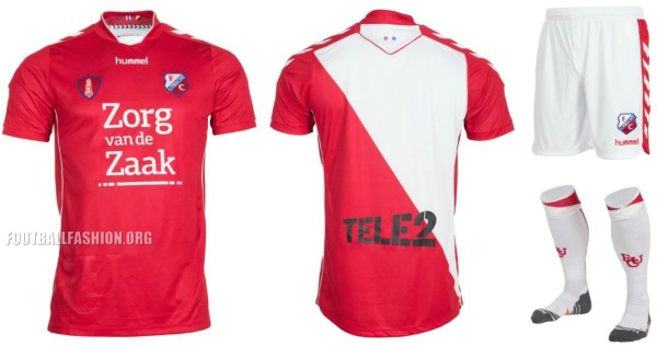 FC Utrecht 2016/17 hummel Home, Away and Third Football Kit. Soccer Jersey, Shirt. Thuis, Uit, Derde