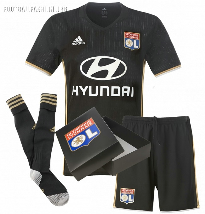 Bien connu Olympique Lyon 2016/17 adidas Third Kit – FOOTBALL FASHION.ORG LD81