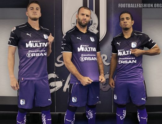 Querétaro FC 2017 PUMA Third Football Kit, Soccer Jersey, Shirt, Camiseta de Futbol, Playera, Equipacion