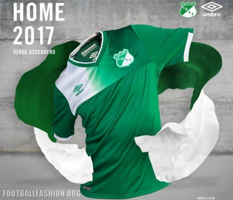 Deportivo Cali 2017 Home and Away Football Kit, Soccer Jersey, Shirt, Camiseta de Futbol