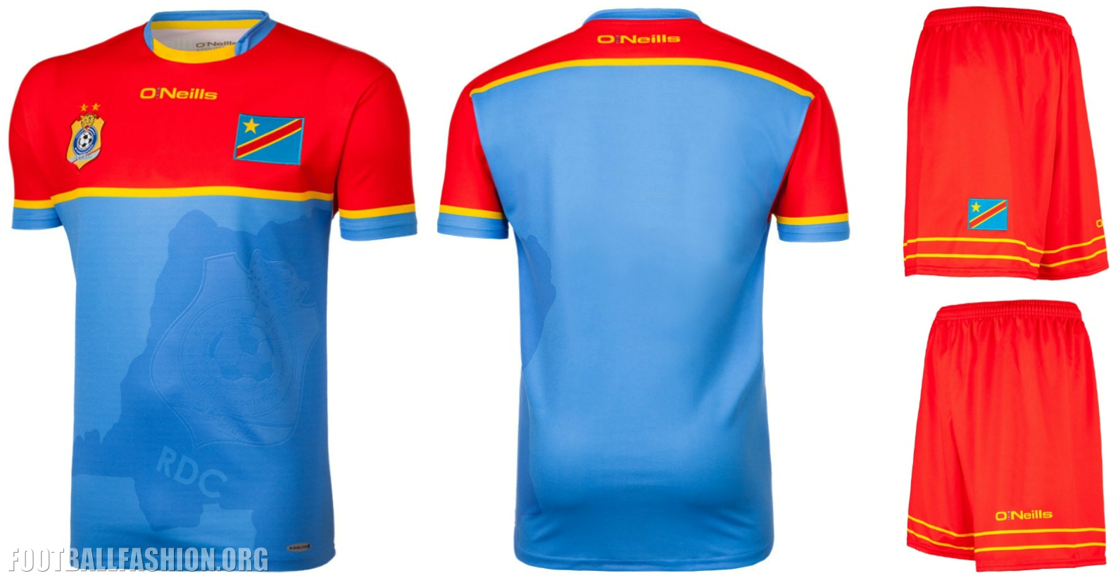 Dr Congo 2017 Africa Cup Of Nations O Neills Kits Football Fashion Org