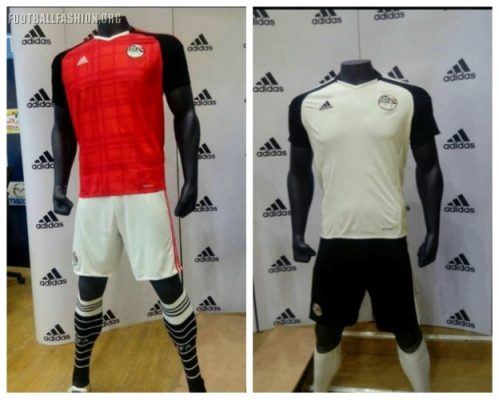 Egypt 2017 Africa Cup of Nations adidas Football Kit, Shirt, Soccer Jersey, Shirt, Maillot, Gara, Maglia