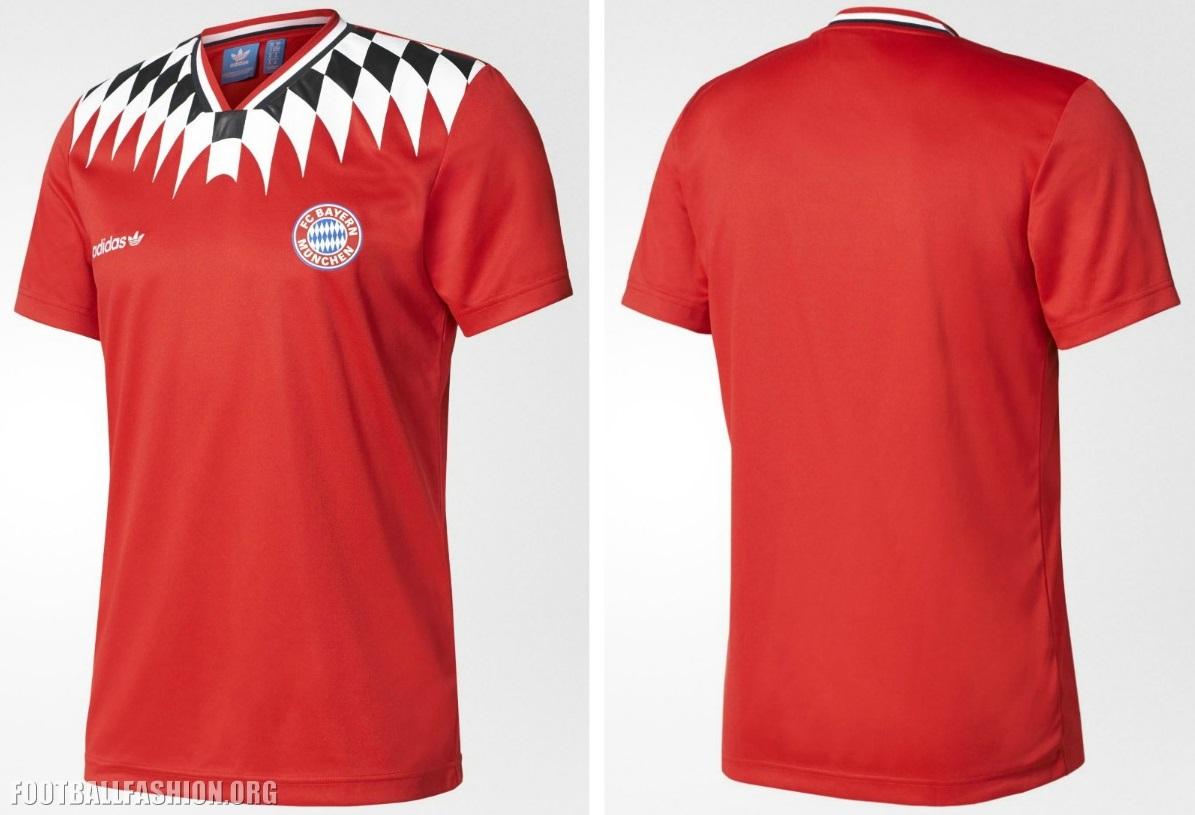 06c499fed99 FC Bayern München 2017 adidas Originals Retro Jersey - Football Fashion