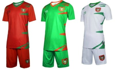 Guinea-Bissau 2017 Africa Cup of Nations Football Kit, Soccer Jersey, Shirt, Maillot, Camisa, Camisola