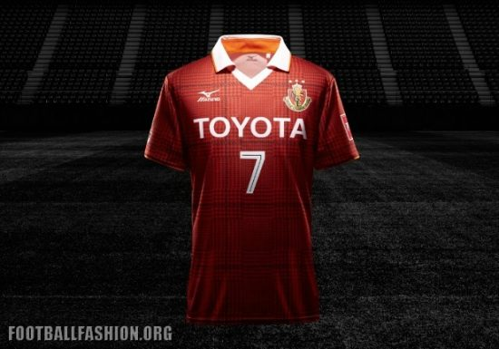 Nagoya Grampus 2017 Mizuno Home and Away Football Kit, Soccer Jersey, Shirt